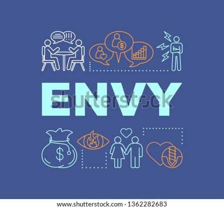 envy word concepts banner