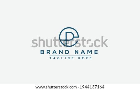 EP Logo Design Template Vector Graphic Branding Element. ストックフォト ©