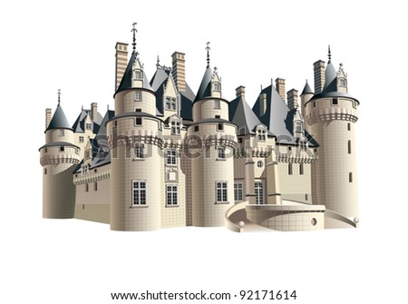 eps 8  a small french chateau