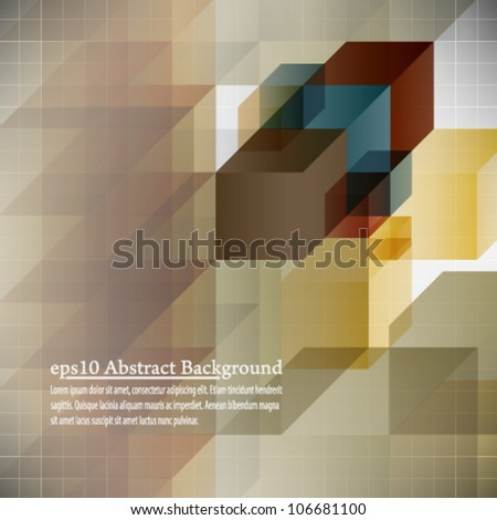 eps10 abstract background book cover design