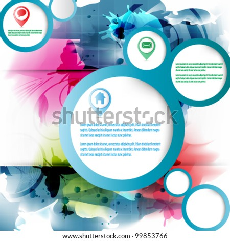 eps10 abstract vector background design