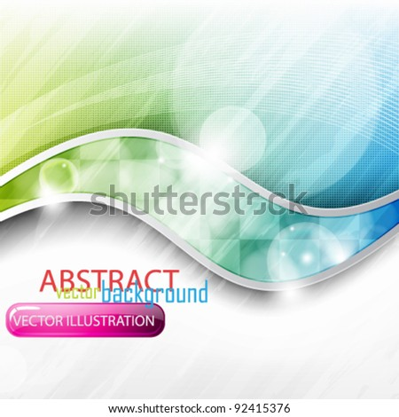 eps10 abstract vector colorful elegant design