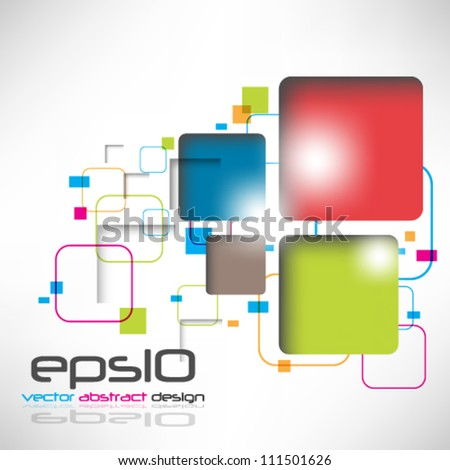 eps10 abstract vector design background