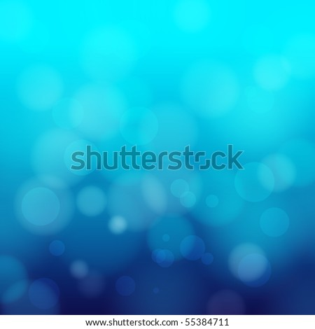 eps 10 blue bokeh abstract