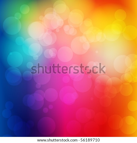 EPS 10 Colorful bokeh abstract light background - Vector illustration