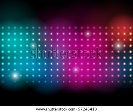 EPS10 Colorful Dots Abstract Vector Background