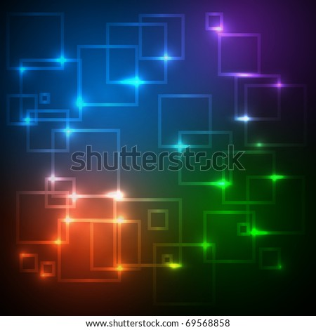EPS10 Colorful Network Vector Design - stock vector