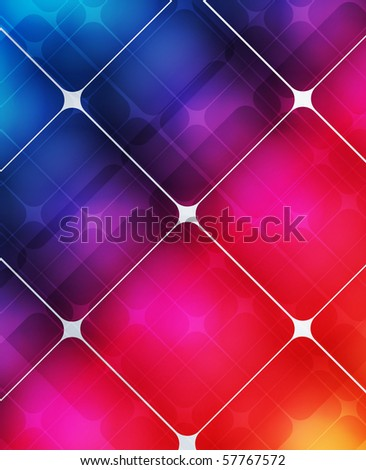 EPS 10 Colorful Squares Design Vector