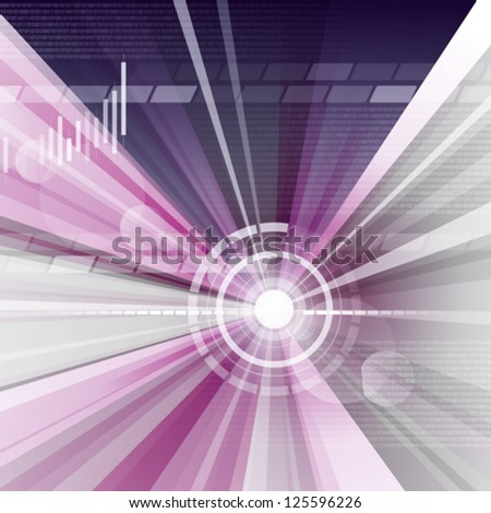 Eps 10. Editable abstract business background. This illustration contains a transparency blend and graphs. This blend and graphs is on a separate layer