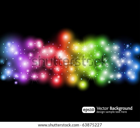 Eps10 light effects background. Modern vector illustration.