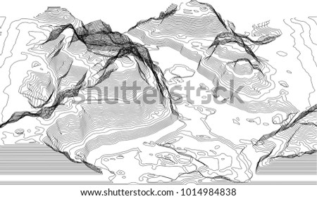 eps10 map of the topography