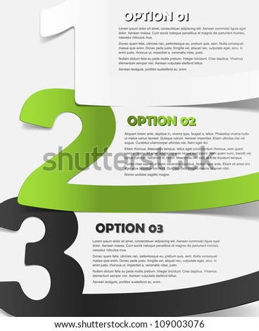 eps10, realistic design elements - stock vector