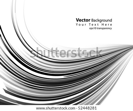 eps10 transparency vector abstract black lines