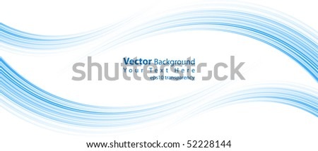 eps10 transparency vector abstract blue lines