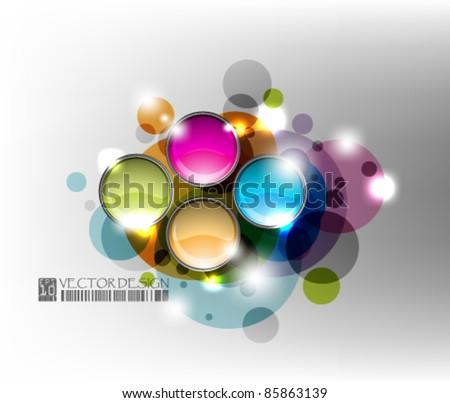 eps10 vector abstract circle design