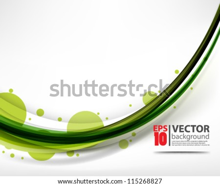 eps10 vector abstract elegant clean wave design