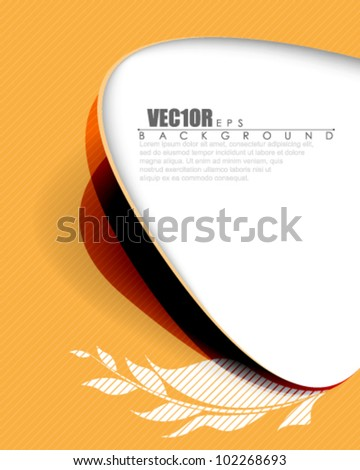 eps10 vector abstract frame design