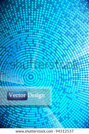 Eps10 Vector Abstract Futuristic Concept Background Design