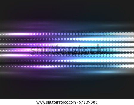 EPS10 vector abstract halftone pattern for your design; composition is colored in shades of violet and blue