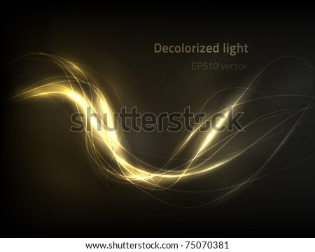 EPS10 vector abstract light