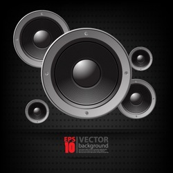 eps10 vector abstract speaker concept background