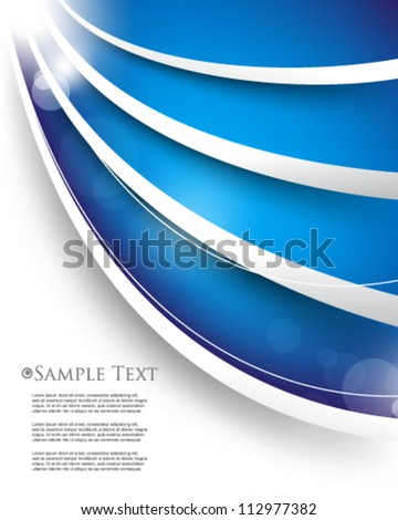 eps10 vector abstract template background - stock vector