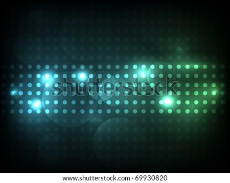 EPS10 vector bright energy design against dark background