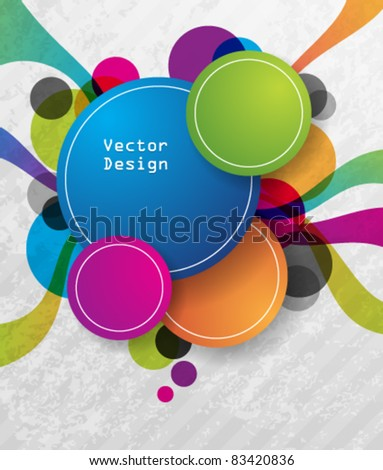 Eps10 Vector Colorful Design Background