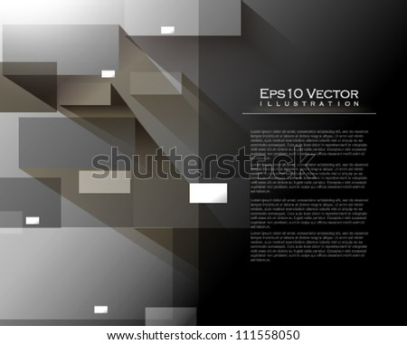 eps10 vector corporate abstract background illustration