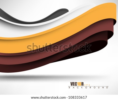 eps10 vector 3d abstract wave