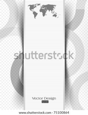 eps10 vector elegant chrome concept design