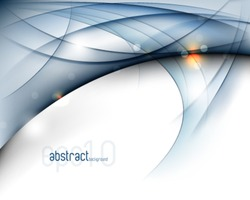 eps10 vector elegant wave abstract background