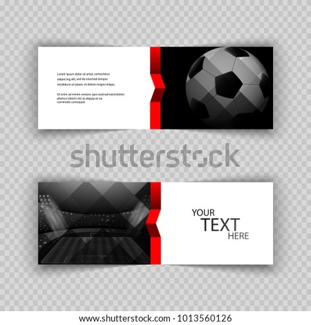 eps 10 vector football set of