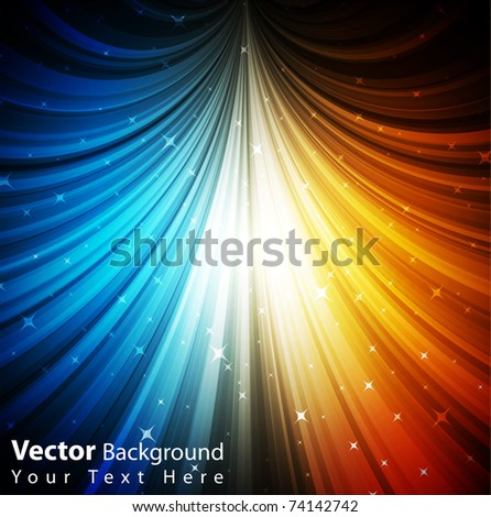 EPS10 vector fully editable colorful abstract background
