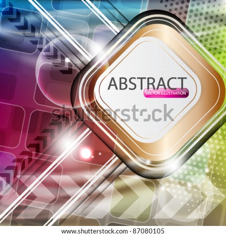 eps10 vector futuristic abstract background design