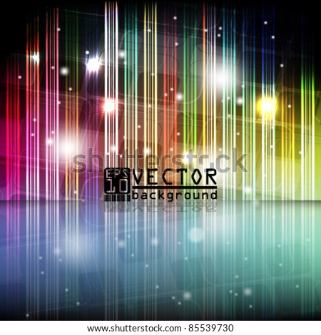 eps10 vector futuristic shine background design