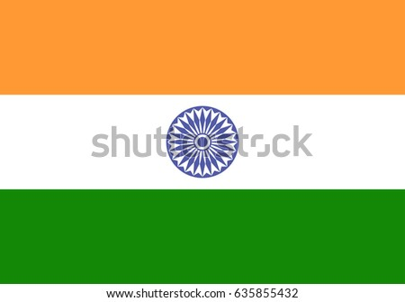 eps 10 vector india state flag