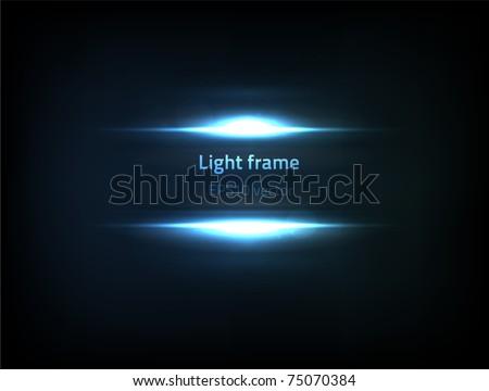 EPS10 vector light frame