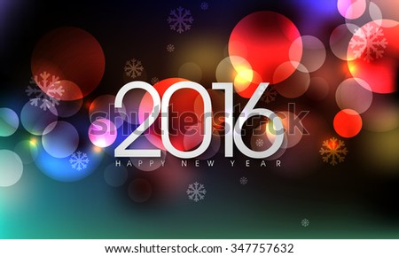 eps10 vector 2016 new years eve