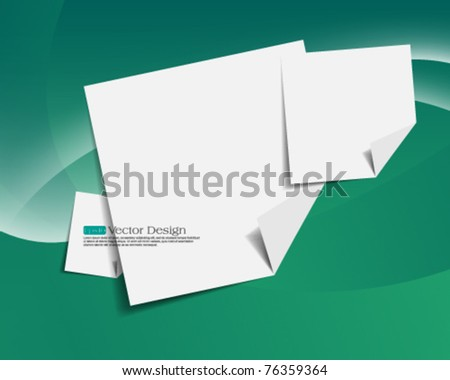 eps10 vector paper concept background