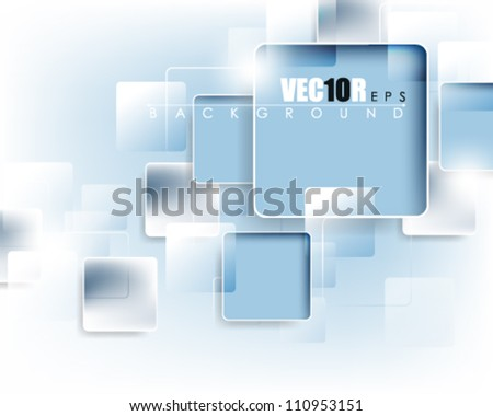 eps10 vector square frame abstract deign