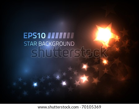 eps10 vector star background