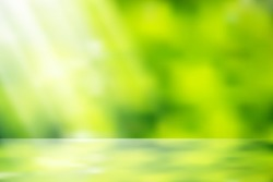 eps10 vector sunlight nature glitter, green color nature bokeh, focus soft blur, green color filter abstract for background. use mash tool, soft light and mask