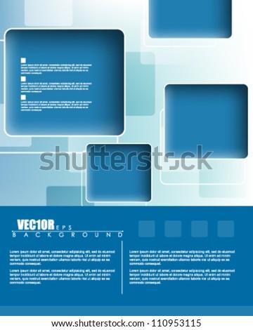 eps10 vector website template abstract deign