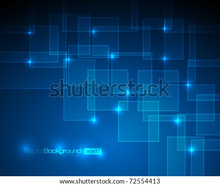 EPS10 - Virtual Technology Vector Background