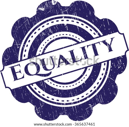 Equality rubber texture