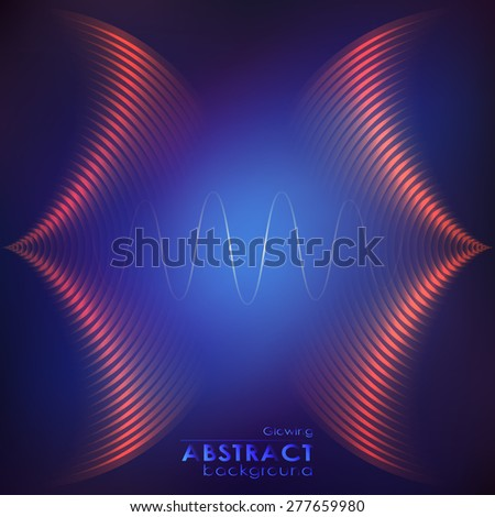 equalizer background music wave