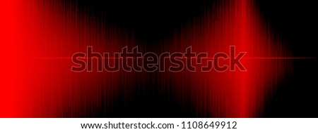 Equalizer, Sound wave rhythmic, wave frequencies, light abstract background, Bright, laser. Red Sound waves oscillating. Abstract red music fluctuation equaliser rhythm Vector Background