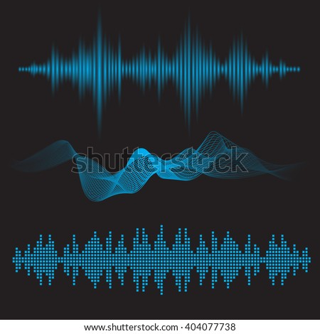 equalizer sound waves icon