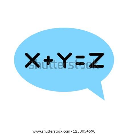 equation solution icon
